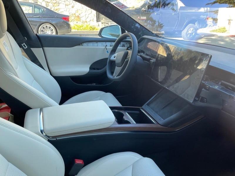 Model s refresh interior