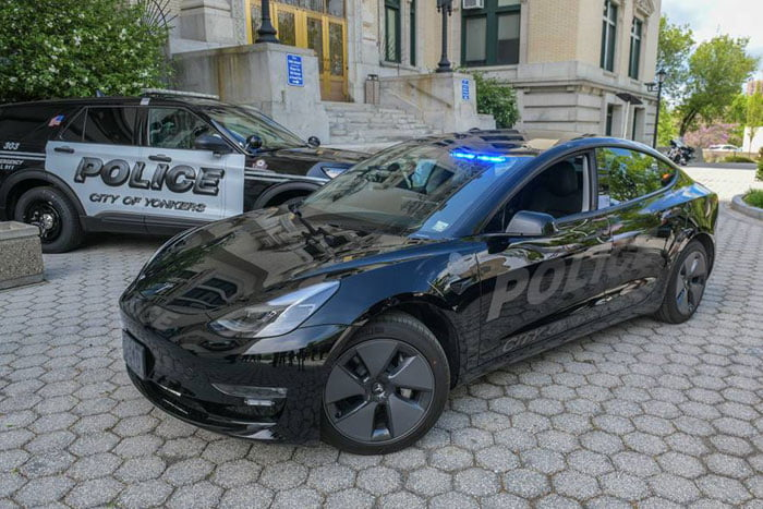 Yonkers PD electric car