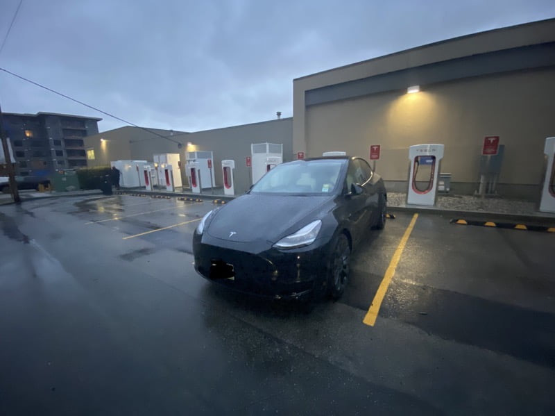 Tesla Supercharger in North Vancouver Opening is Imminent - TeslaNorth.com
