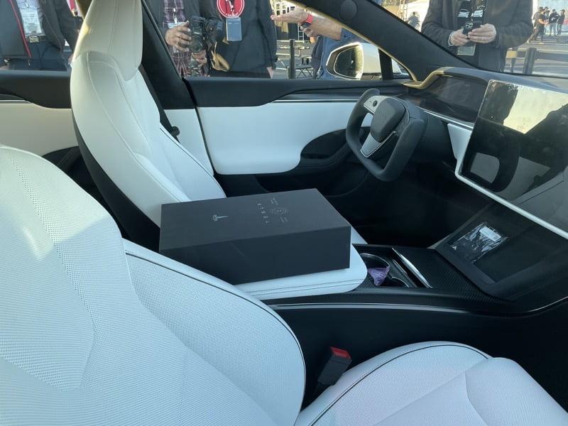 Tesla tequila model s