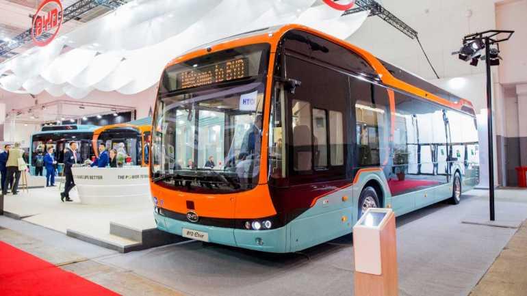 BYD развернет электрические автобусы недалеко от полярного круга