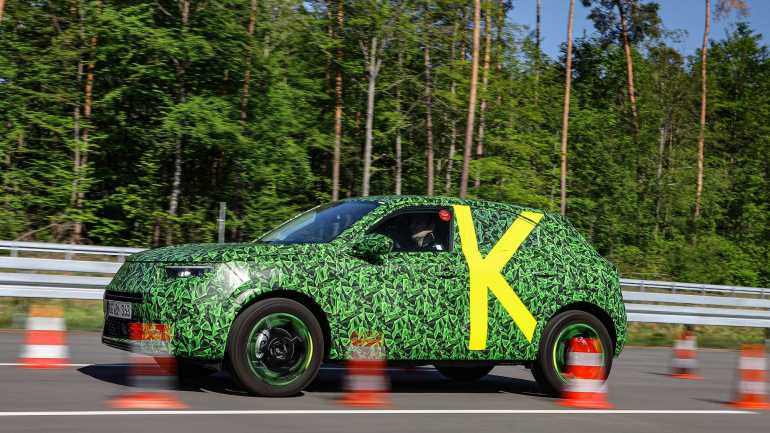 Opel / Vauxhall дразнит новый Mokka с электроэнергией