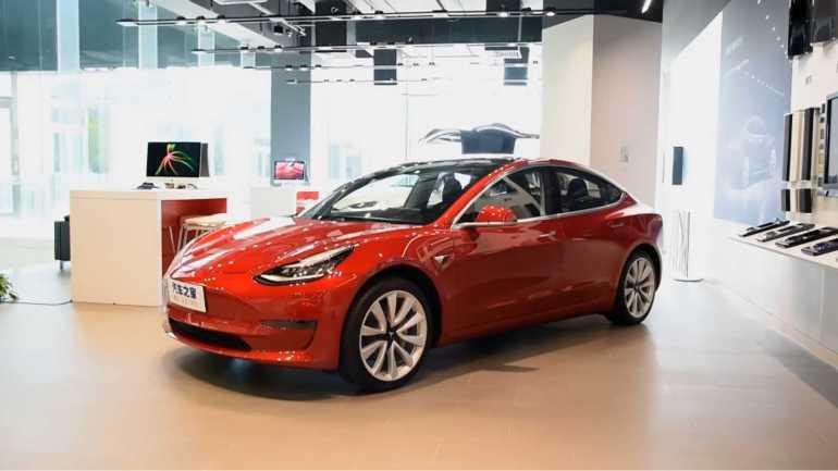 Tesla Model 3 Long Range RWD теперь в производстве в Китае