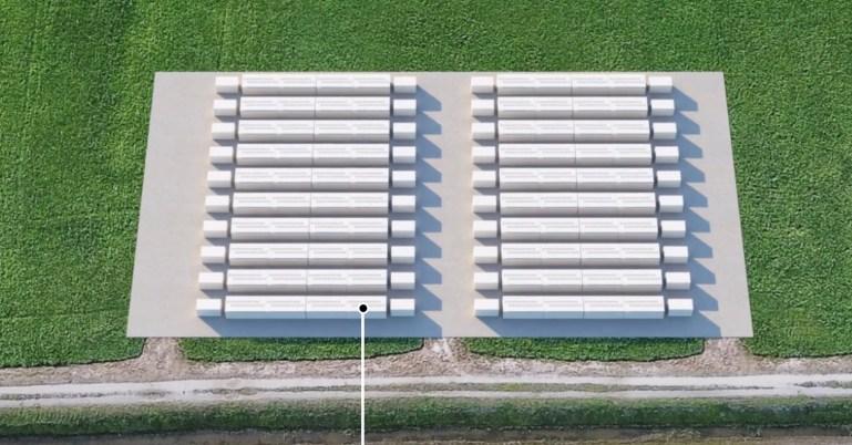 Аккумуляторы Tesla Megapack активированы для проекта аккумуляторов мощностью 100 МВт в Калифорнии - одного из крупнейших в стране
