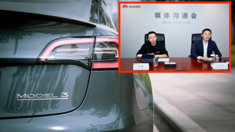 """Представитель Huawei, назвавший Tesla """"убивающими"""" машинами, уволен после жалобы китайской юридической службы"""