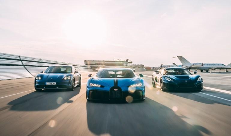 Производитель электрических гиперкаров Rimac берет под свой контроль бренд Bugatti
