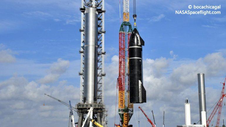 Первый космический корабль SpaceX Starship и Super Heavy вернется на стартовую площадку на следующей неделе