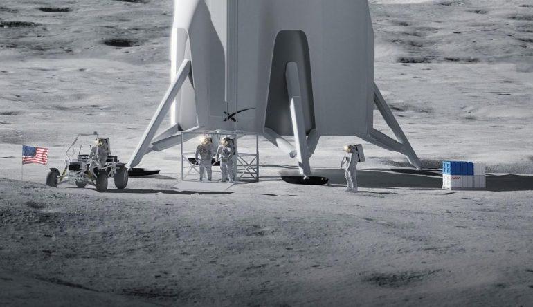 Илон Маск заявил, что SpaceX может построить скафандры для новой Луны для НАСА