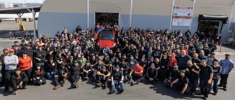 Tesla team red Model Y
