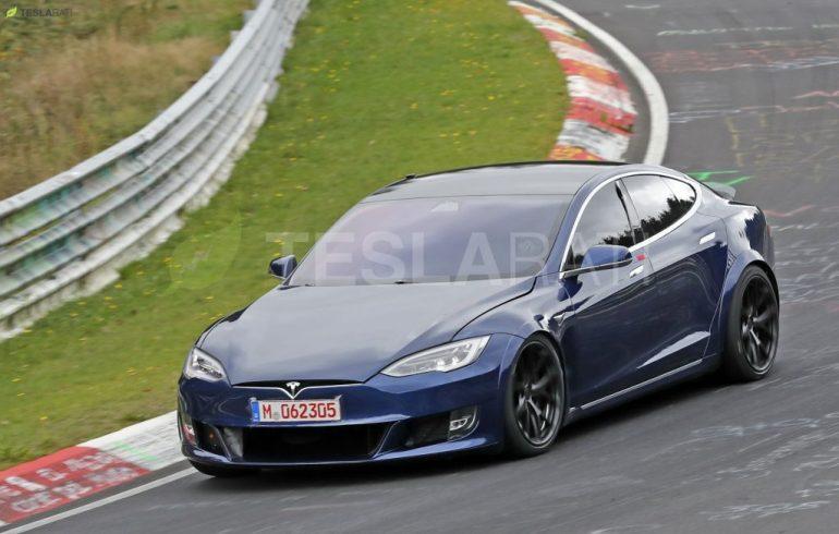 Tesla Model S Plaid разбилась во время испытаний в Нюрбургринге