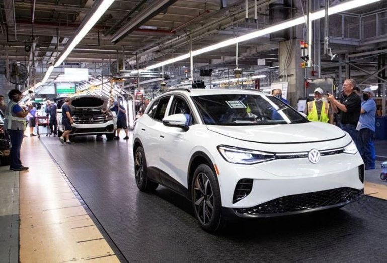 Volkswagen запускает предсерийную версию ID.4 на заводе в Чаттануге