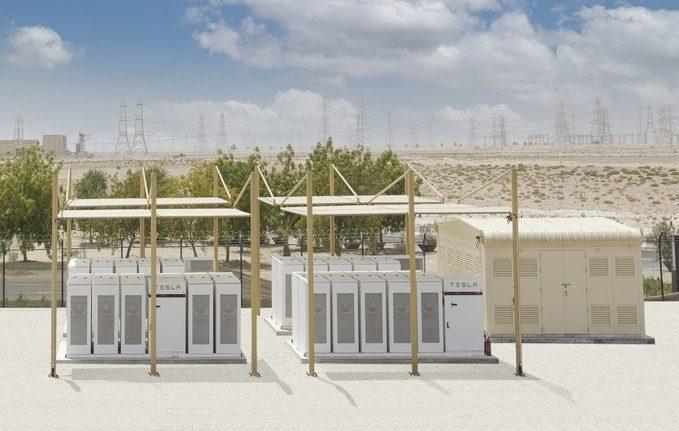 Аккумуляторы Tesla включены на крупнейшей в мире солнечной ферме на Ближнем Востоке