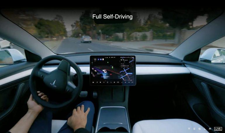 Полнофункциональная бета-версия Tesla отправляется в Канаду