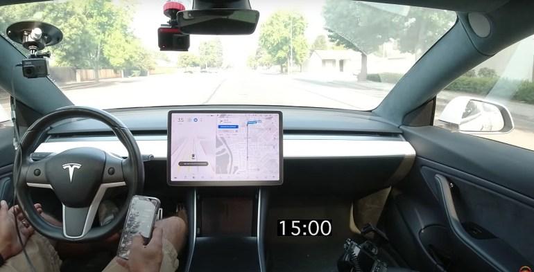 Система наблюдения за водителями на базе камер Tesla распространяется на автомобили с радаром
