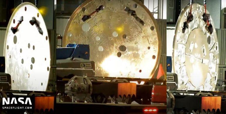 SpaceX отправила на Starbase оборудование для первого супертяжелого ускорителя с 33 двигателями