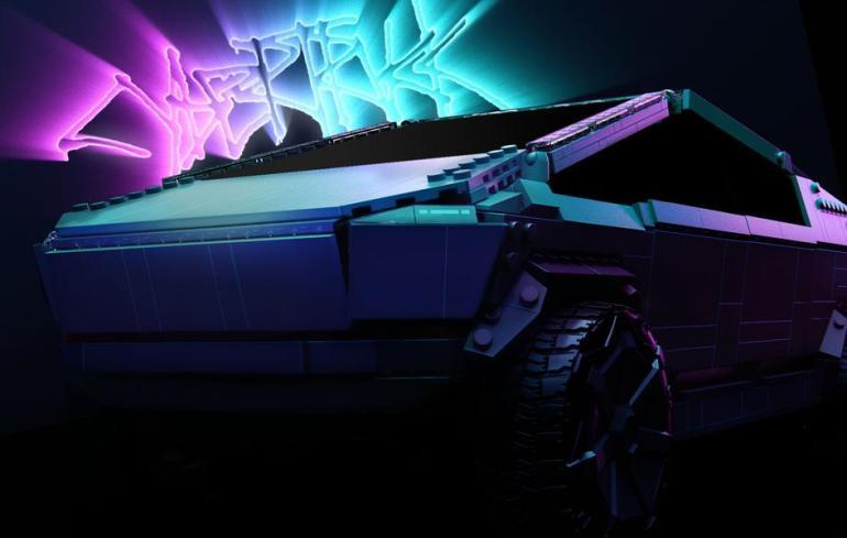 Mattel создает идеальный комплект Tesla Cybertruck LEGO, которого никогда не было