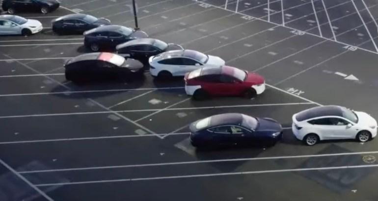 Обновленная Tesla Model X снова замечена на заводе во Фремонте
