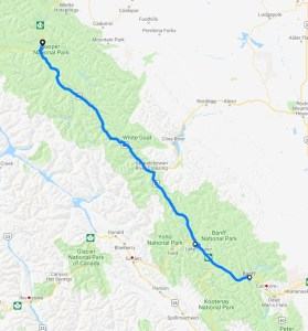 Jasper National Park Leg