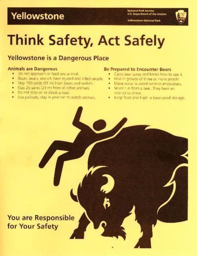Yellowstone Safety
