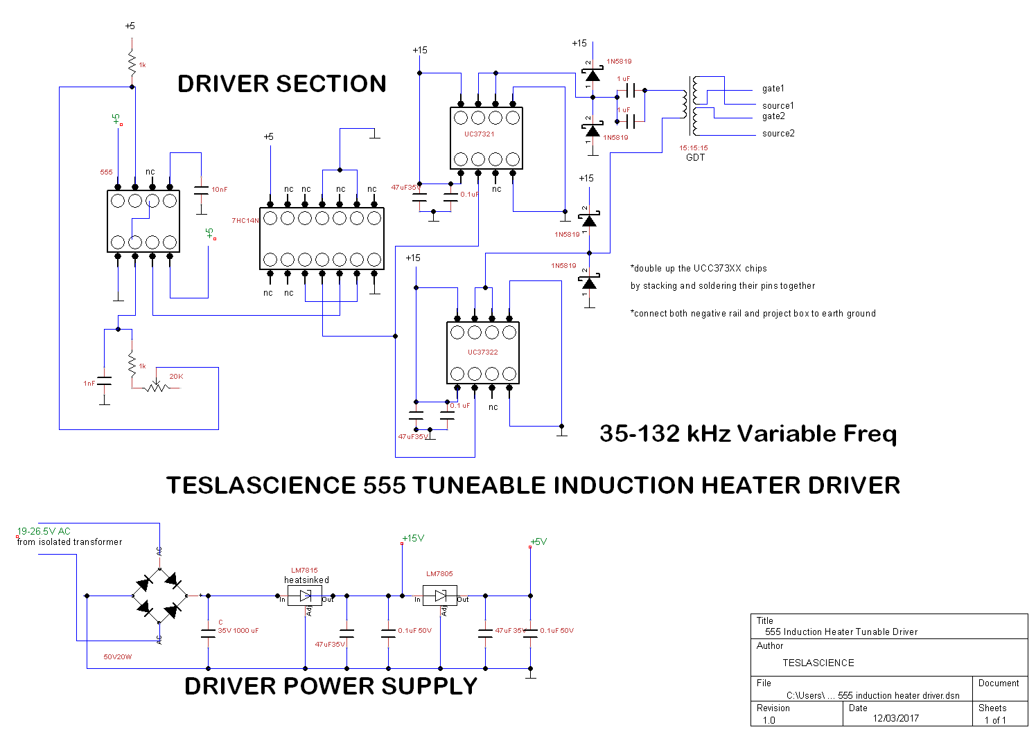 how to construct simple powerful induction heater teslascience hacks transformer tesla coil driver on induction heater schematic diagram [ 1495 x 1060 Pixel ]