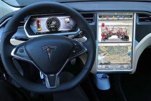 Teslan interior