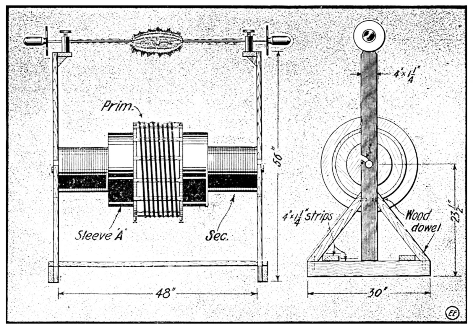 medium resolution of 1 k w tesla coil diagram