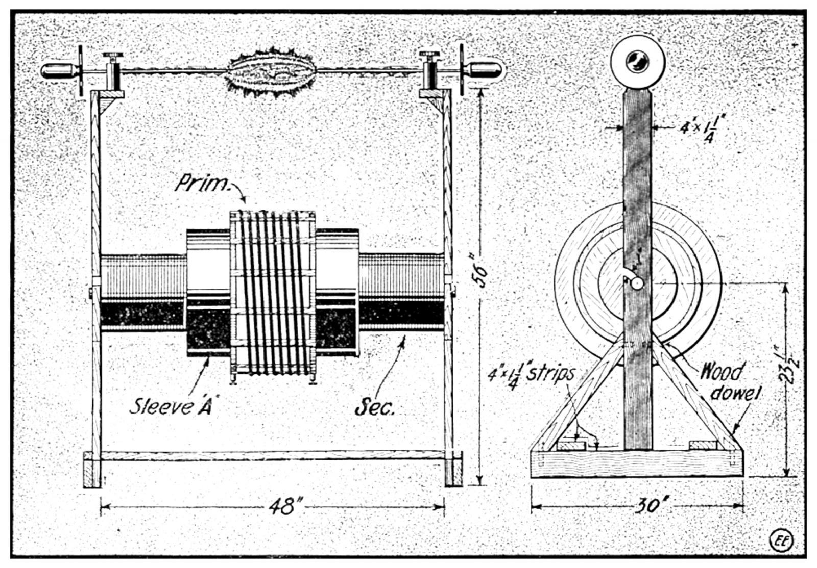 hight resolution of 1 k w tesla coil diagram