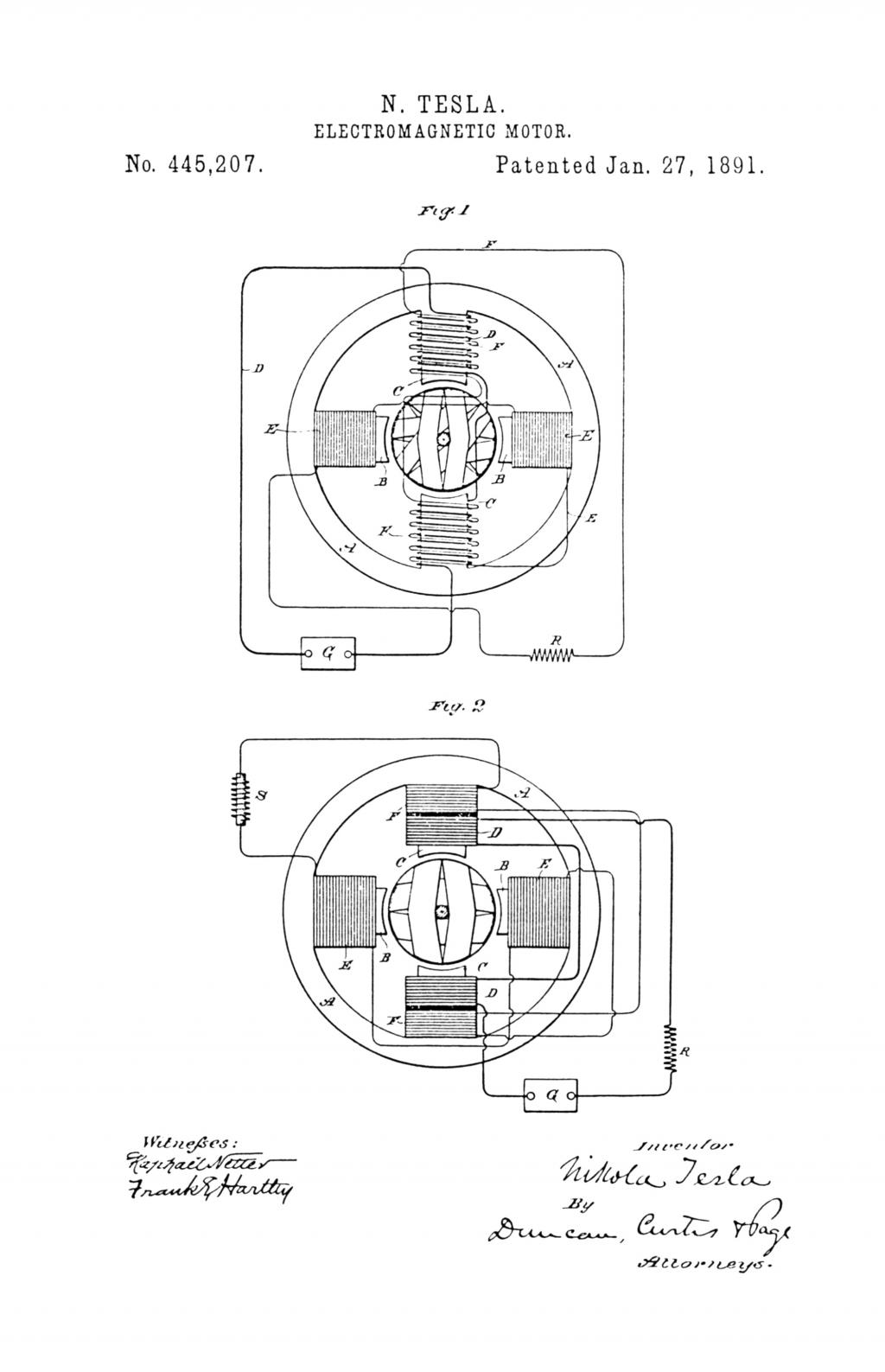 medium resolution of nikola tesla u s patent 445 207 electro magnetic motor
