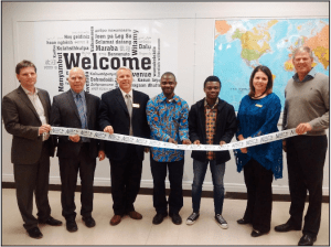 Grand Opening of Anglophone West School District's Newcomer Support Centre