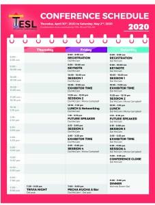 TESL Schedule