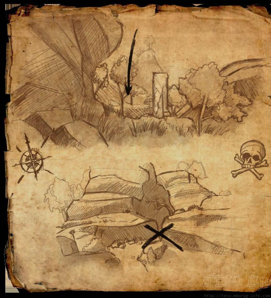 2 Map Auridon Treasure Eso