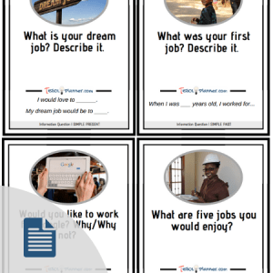 Discussion question cards