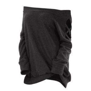 Plus Size Off The Shoulder Criss Cross T Shirt