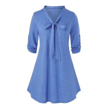 Plus Size Bowknot T-Shirt