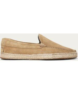 Beige Suede Seaside Loafer