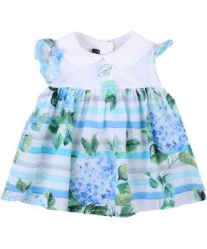Miss Blumarine BODYSUITS & SETS Sky blue Girl Cotton