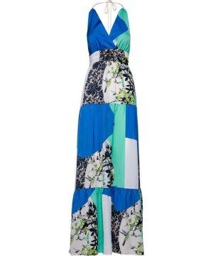 Conquista Maxi Empire Line Patchwork Dress by Fashion