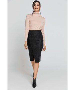 Conquista Black Pencil Skirt