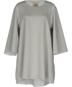Jijil Grey Stripe Jersey Dress