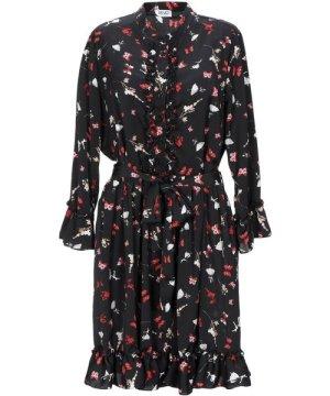 Liu Jo Black Print Long Sleeve Dress