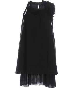 Atos Lombardini Black Pleated Dress