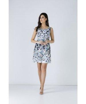 Conquista Floral Empire Line Dress