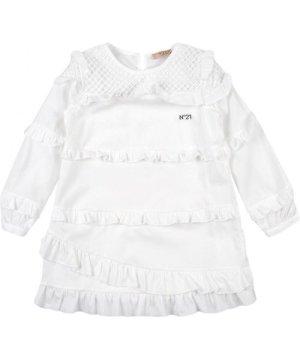 N°21 DRESSES N�21 White Girl Cotton