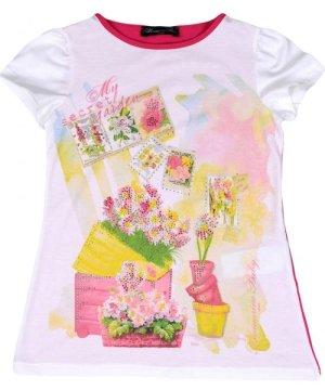 Miss Blumarine BODYSUITS & SETS White Girl Cotton