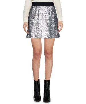 Ermanno Scervino Di Silver Sequin Skirt