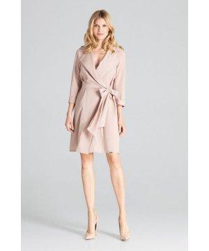 Figl Beige Leeway Midi Dress