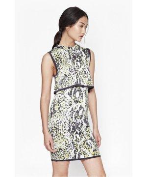 Spotlight Boa Layer Dress - fanzine multi