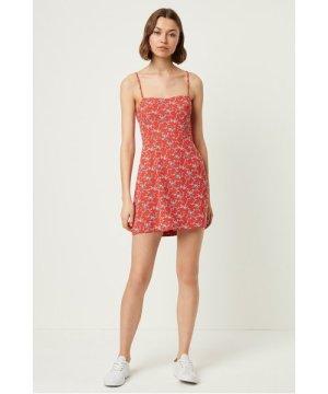 Cerisier Whisper Sweetheart Dress - flame multi