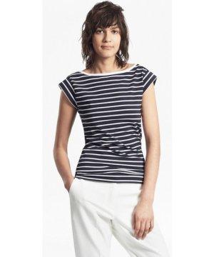 Tim Tim Stripe T-Shirt - utility blue/white