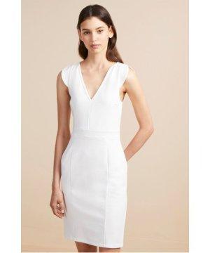 Lulu Lolo Stretch Bodycon Dress - summer white